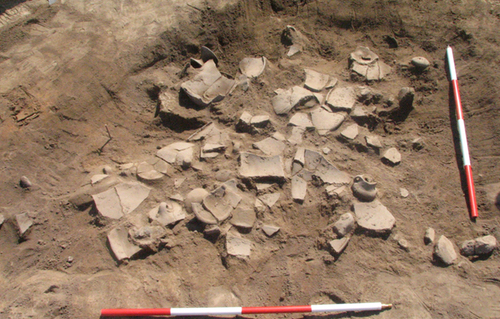Structure 25-27 at Bubanj, dating to Early Eneolithic (© A. Bulatović)
